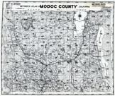 Title Page - Index Map, Modoc County 1958